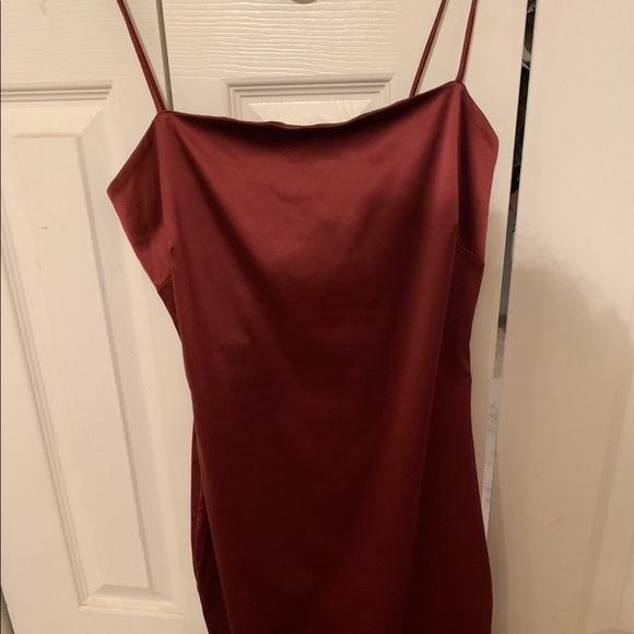 naked wardrobe Dresses & Skirts - Naked Wardrobe Little Miss Satin Mini